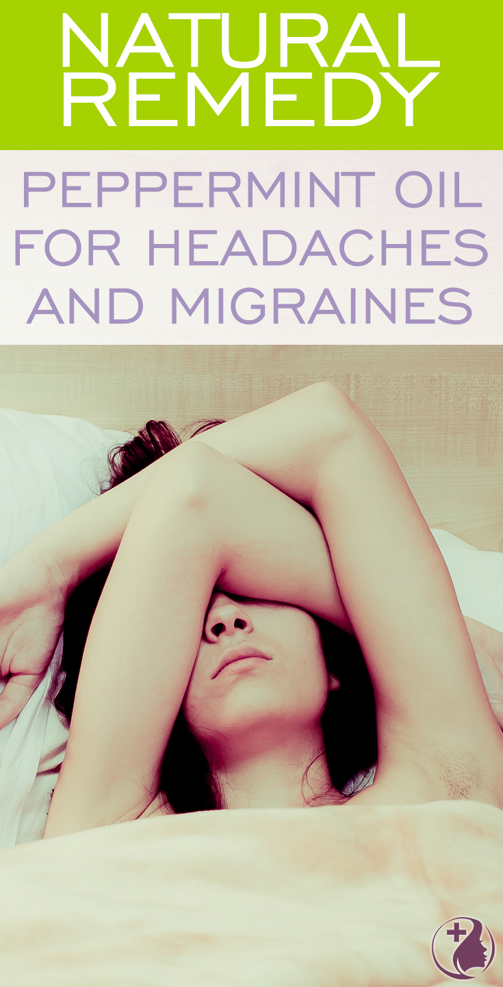 Learn about this natural remedy using peppermint essential oil for headaches. Melt away the symptoms of tension headaches using peppermint oil as a cost-effective natural solution to replace drugs.
